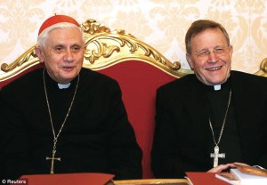 At the February 2014 Consistory, Cardinal Kasper surprised the Assembly by citing a theological study by Professor Ratzinger.
