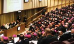 Here, an image from the beginning of the Synod on the Family in 2014, on October 6. This afternoon session was held in the presence of Pope Francis in the Synod Hall (Galazka photo)