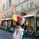 Outside Giolitti's
