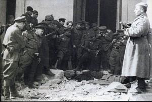 Adolf Hitler killed himself by gunshot on April 30, 1945 in his Führerbunker in Berlin