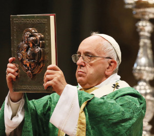 Images from the Inaugural Mass of the Synod in St. Peter's on Sunday, October 4, 2015