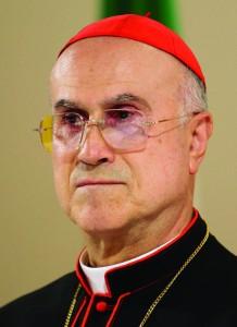 18.07.2007 Pieve di Cadore. Il Card. Tarcisio Bertone, Segretario di Stato Vaticano, incontra la Magnifica Comunità del Cadore.