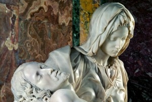 "The ""Pietà"" of Michelangelo in St. Peter's Basilica"
