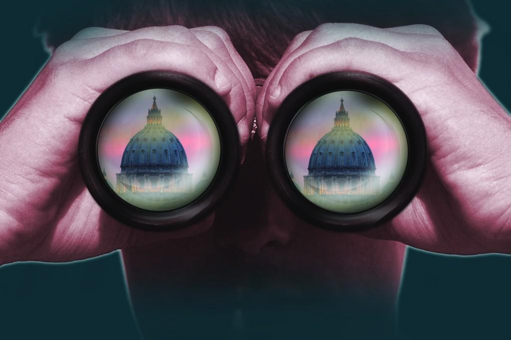 binocolo spie vaticano