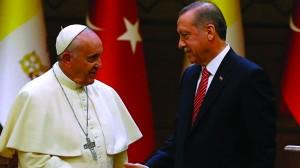 erdogan papa francesco