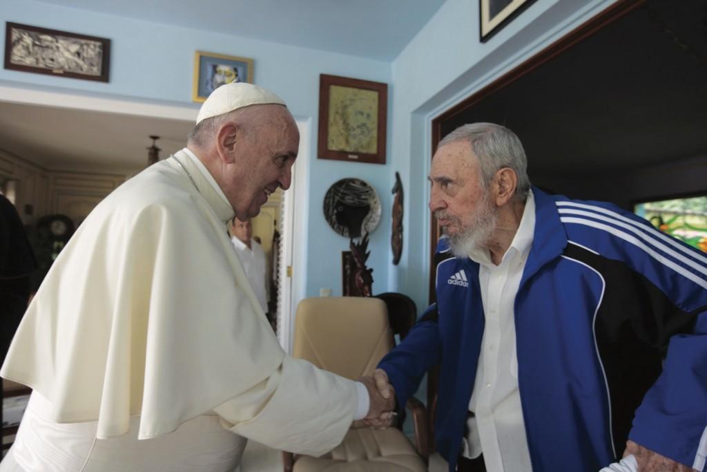 fr. fidel CaStro 20150921cnsnw0144