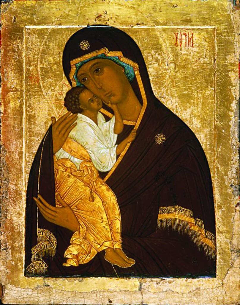 madonna icona Icone russe Museo Tretyakov