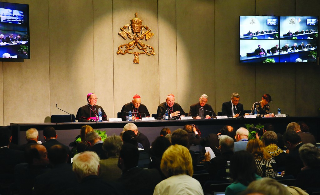 8/04/2016 Vatican City. Press conference presenting Pope Francis' Post-Synodal Apostolic Exhortation