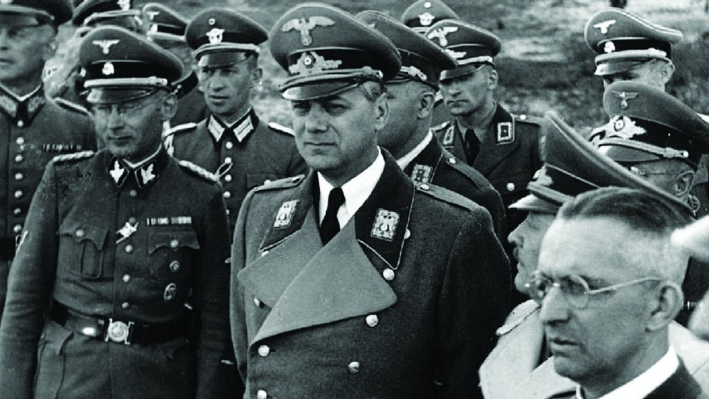 Ufficiali nazisti Alfred Rosenberg
