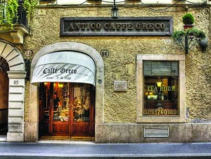 entrata cafe-greco