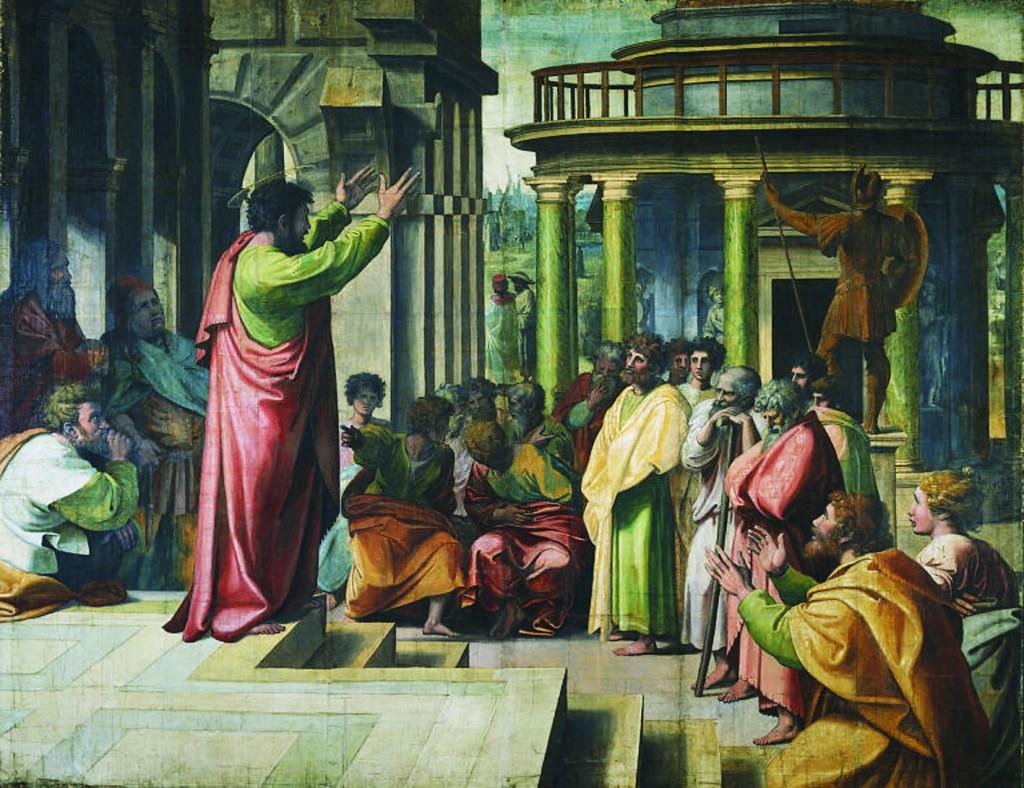 predica san paolo AREOPAGO ATENE