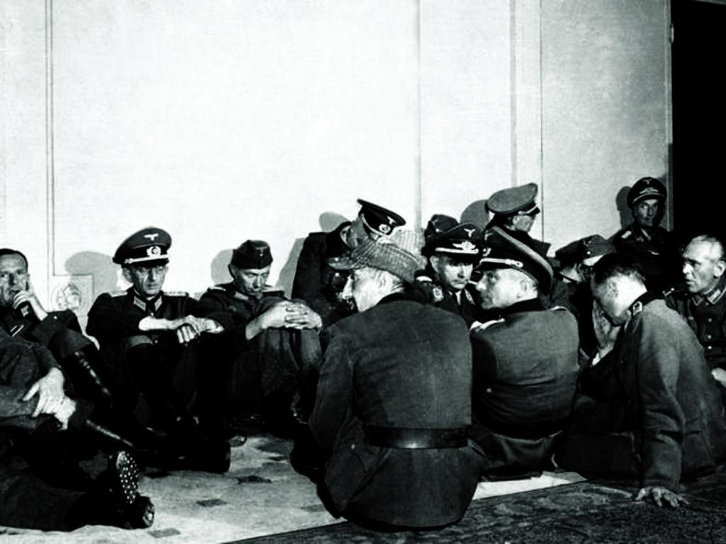_ufficiali tedeschi arresi liberazione di Parigi