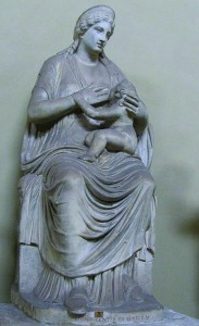 VATICANO Musee_Pio_Clementino-Isis_lactans