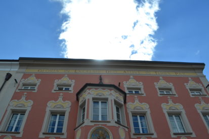 Building in which Ratzinger family lived in Tittmoning – Photo by Michael Hesemann