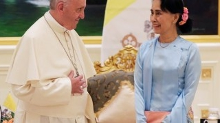 Pope in Myanmar