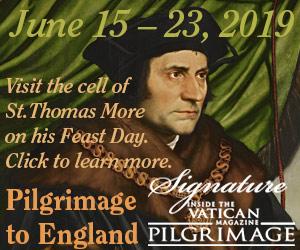Pilgrimage to England in June