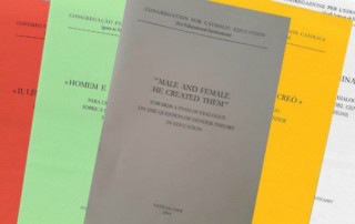 """The new document from the Congregation for Catholic Education, """"Male and Female He Created Them: Towards a path of dialogue on the question of gender theory in education"""""""