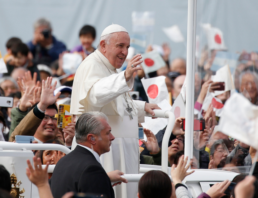 Pope at Mass in Nagasaki: compassion as the authentic way to shape history