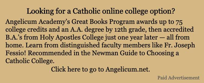 Angelicum Academy Paid Ad