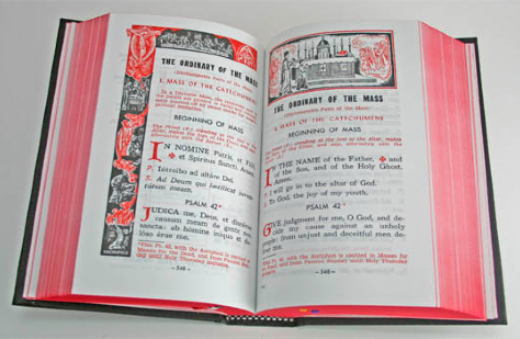 missal of the old Mass